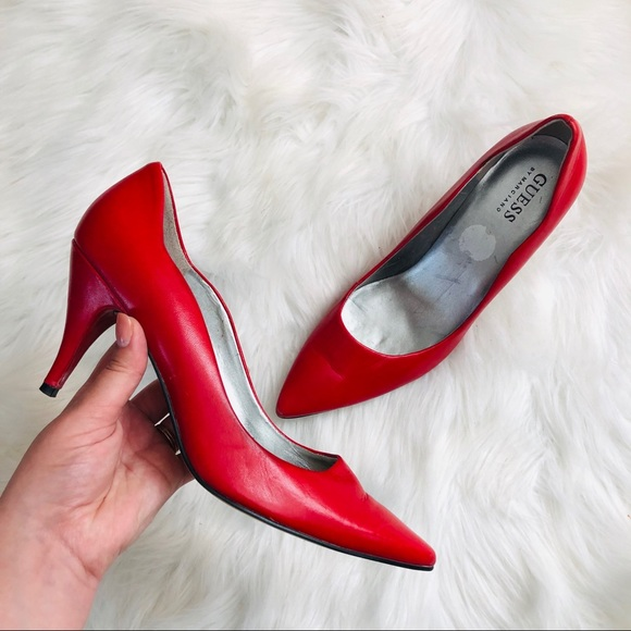Guess by Marciano Shoes - Guess By Marciano Red Pums